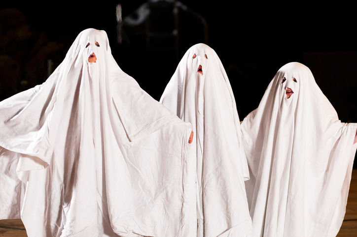 Easy ghost costumes Halloween