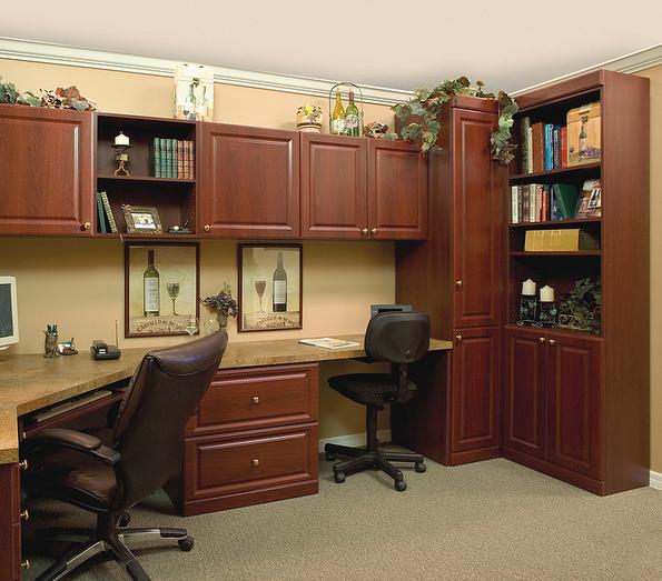 Shared custom home office