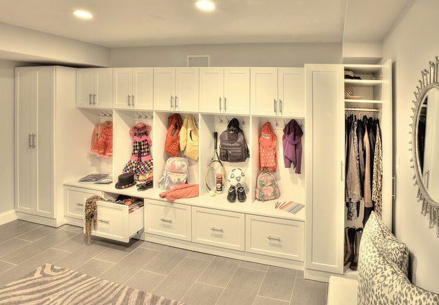 custom entryway organization system closet and storage concepts