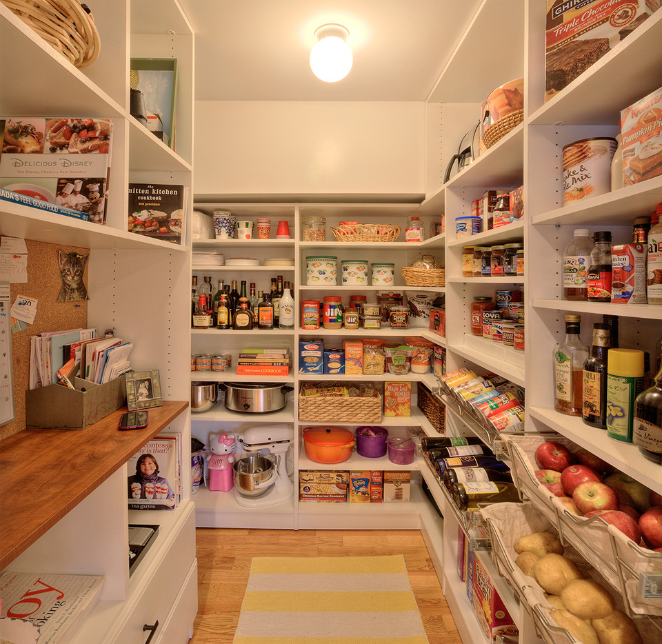 Custom Kitchen Pantry Solutions