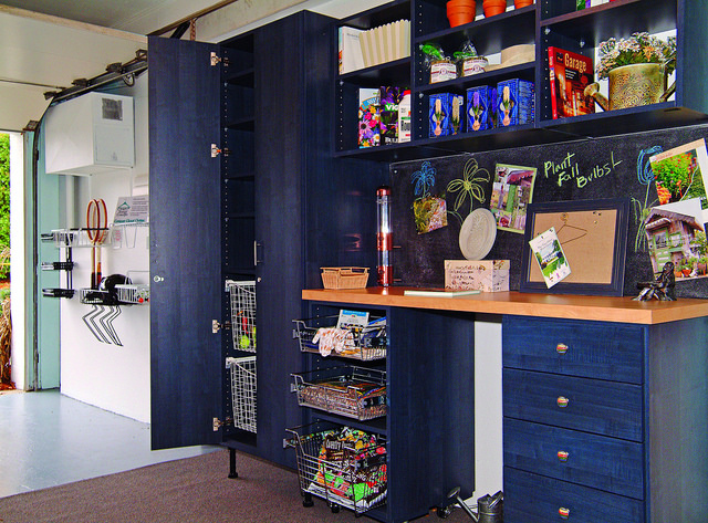 customized garage cabinet organizer
