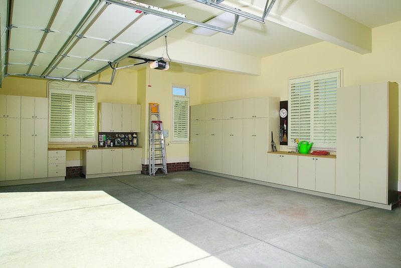 built-in garage cabinets Closet & Storage Concepts