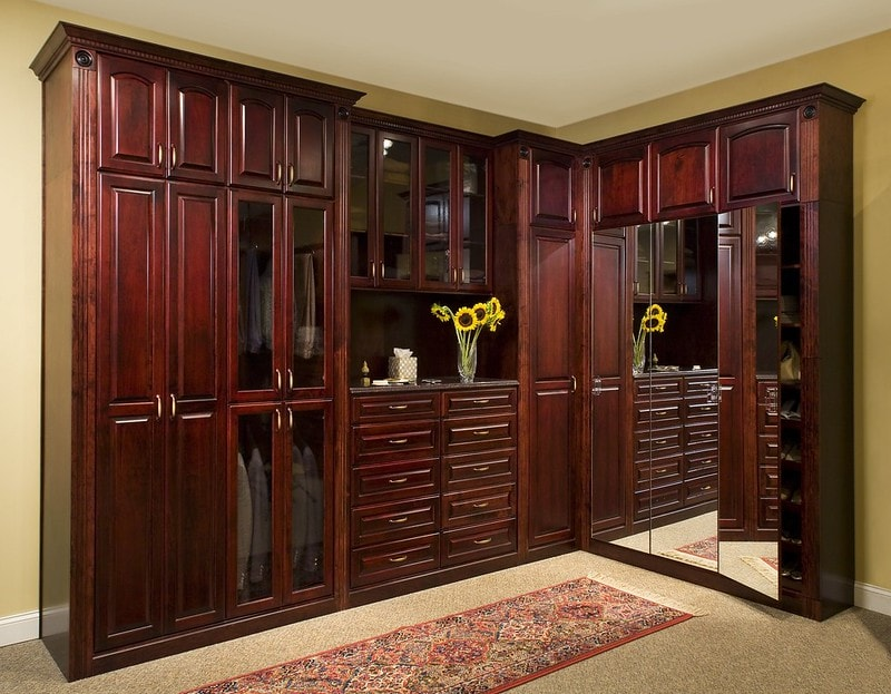 traditional custom closet cabinets Closet & Storage Concepts