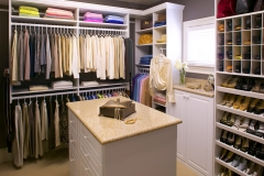 Custom Closet with Cubbies