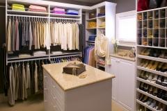 Custom Closet with Cubbies