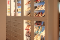 Walk-In Closet Shoe Cabinet