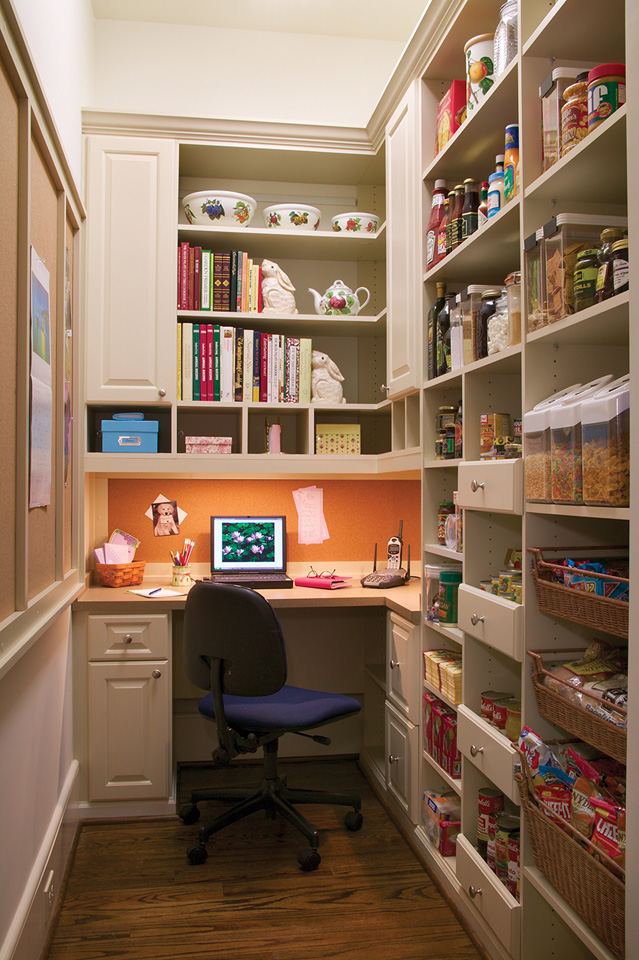 Pantry gallery closet & storage concepts.