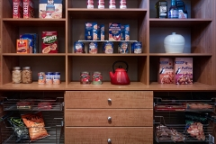 Pantry with Sliding Baskets