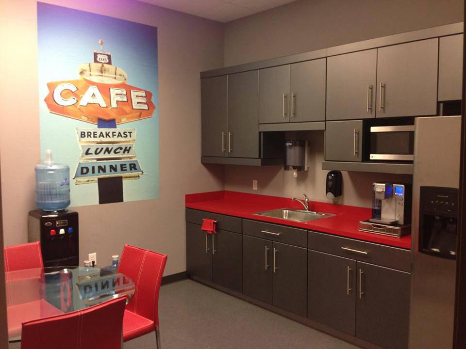 Modern Breakroom