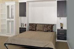 Contemporary Panel Bed